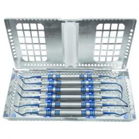 6 Sinus Lift Curettes kit