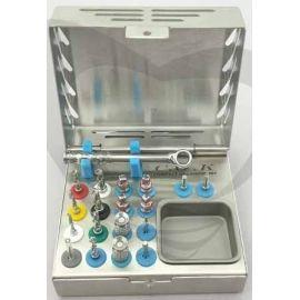 Dental Implant Complete Surgical External Irrigation Twist Drills Kit