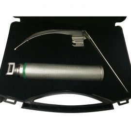 McCoy Laryngoscope Blade with Handle Kit Fiber Optic